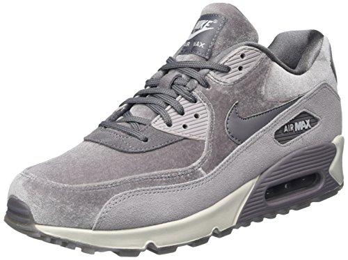 Wmns Air Max 1, Zapatillas para Mujer, Multicolor (Vast Grey/Gunsmoke/Black/Particle Rose 032), 36.5 EU Nike