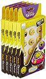 Guenthart Zucker Smileys, gelb, 5er Pack (5 x 12 g)