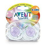 AVENT Schnuller durchsichtig 6-18 Mon.BPA-frei 2 St