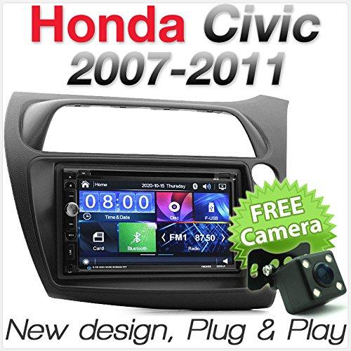 Auto DVD-Player USB MP3Für Honda Civic Schrägheck FK FN Stereo Radio Faszie Kit