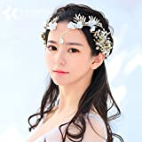WHH* Rhinestone de oro de las mujeres / crysta / flores / l aro del pelo / corona / tocado de la novia / partido anual / accesorios del vestido de boda
