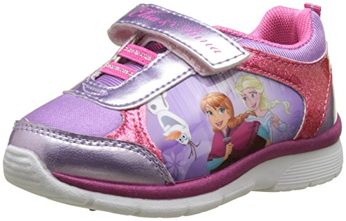 Disney FrozenGirls Kids Athletic Sport - Botas de Caño Bajo Niñas, Multicolor (Multicolore (Lilac/Purple/Fuxia)), 26