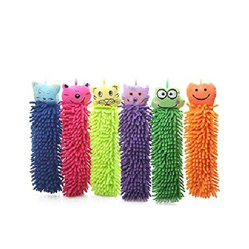 Bazaar Mignon-Tool Reinigung der Tiere Chenille-Comic-Reinigungstuch Handtuch