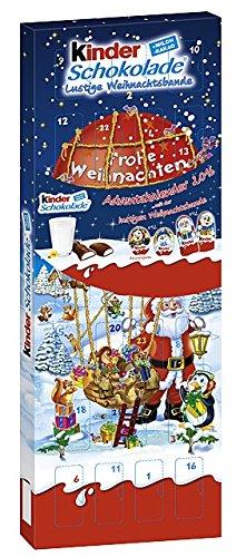 Kinder Schokolade gefüllte Figuren Adventskalender, 204 g