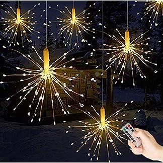 Queta Caja de Control Remoto con Cable de Cobre para explosión, Fuegos Artificiales, Luces Decorativas LED, 1 Paquete