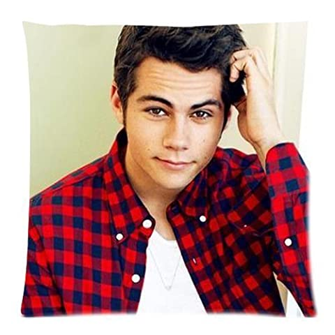 Dylan O'brien 18 by 18 inch Cotton Polyster Bedding Pillowcase Zippered Pillow Cover (Two Sides Print)