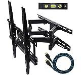 eco-best (TM) 003m Cantilever esquina TV giratorio de inclinación soporte de...