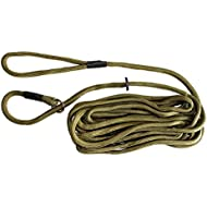 Dog & Field Training Lead - 6 meter Long Training / Exercise Lead - Super Soft Braided Nylon - Train or Exercise Your Dog Whilst Remaining in Full Control