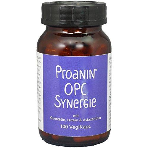 Preisvergleich Produktbild Proanin OPC Synergie NEU: Jetzt mit Astaxanthin, 100 VegiKaps