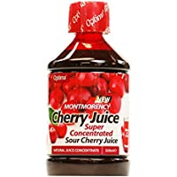 Optima Montmorency Cherry Juice Super Concentrate 500ml (6 x Packs) UK MAINLAND ONLY