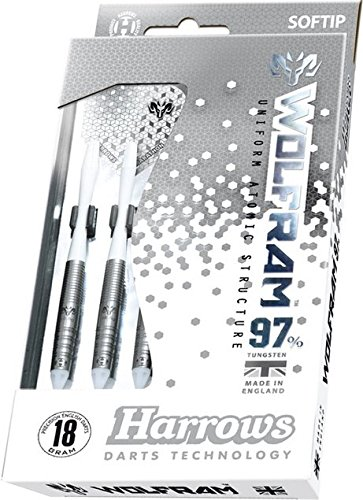 18g Soft Tip Harrows Wolf Wolfram Tungsten Darts Set by PerfectDarts