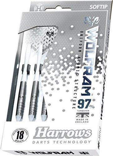 18g Soft Tip Harrows Wolf Wolfram Tungsten Darts Set by PerfectDarts