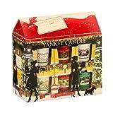 Yankee Candle-Candela profumata, 12 House Set regalo di Natale