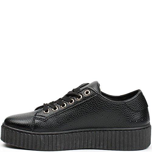 Ideal Shoes , Sneaker donna, nero (nero), 40 EU