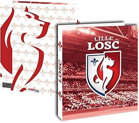 Classeur A4 LOSC - rentrée scolaire 2016 / 2017 - Collection officielle LILLE
