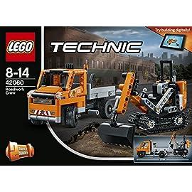 LEGO 42060 Technic Straßenbau Fahrzeuge