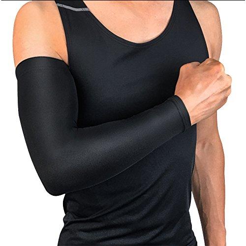 Ellenbogenschutzhülle/Kompressionsärmelhülle, Sport-Ellbogenstütze für Damen und Herren