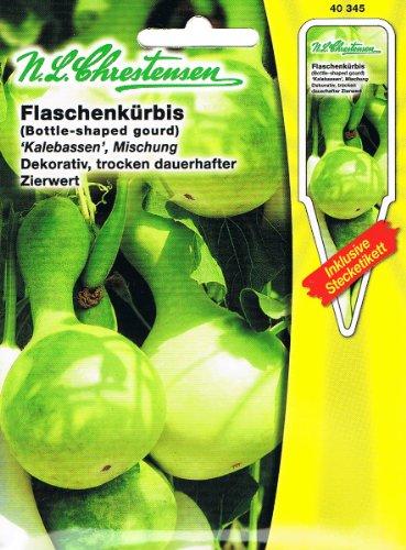 Flaschenkürbis Kalebassen-Mischung (Portion inkl. Stecketikett)