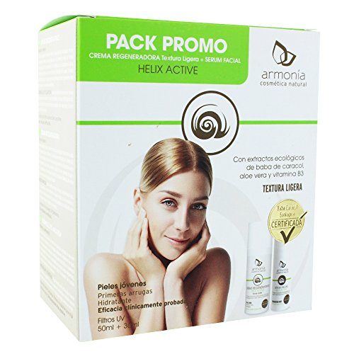 Armonia Pack Crème Régénératrice Helix Active 50 ml + Sérum Facial 30 ml