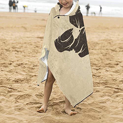 Halloween aufregende Zombie Hand weich warme Baumwolle Kinder verkleiden sich mit Kapuze tragbare Decke Badetücher werfen Wrap für Kleinkinder Kind Mädchen Jungen Größe Home Reise Picknick Schlaf