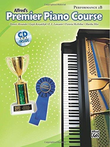 Premier Piano Course Performance 2b