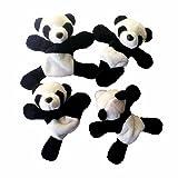 Malloom 1 Stück Nette Weiche Plüsch Panda Kühlschrankmagnet Kühlschrank Aufkleber Geschenk Souvenir Decor