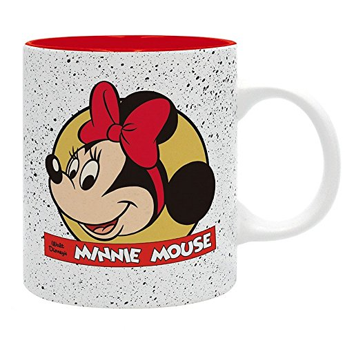 Mickey Mouse Disney - Premium Keramik Tasse Minnie - Geschenkbox