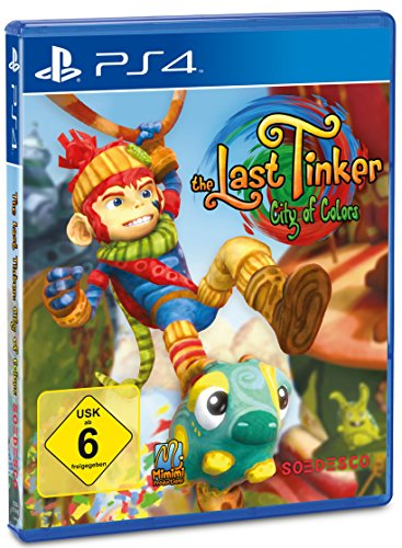 The Last Tinker: City of Colors - [PlayStation 4]