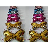 My Party Store DOT COM KANJAK Butterfly Hair Clips For Girls/Kids (Pack Of 10) Multicolour