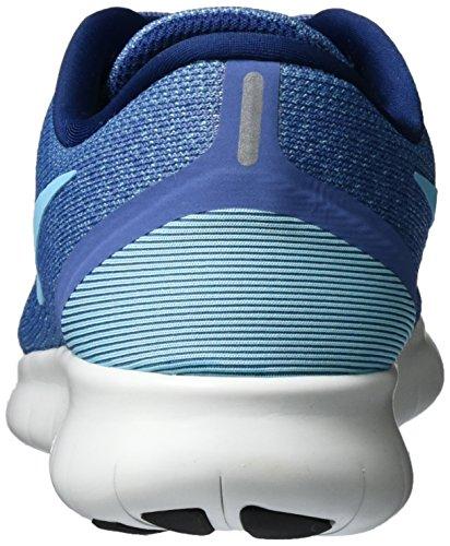 Nike Free Rn, Scarpe da Corsa Donna Blu (Blue Moon/polarized Blue/coastal Blue/off White)
