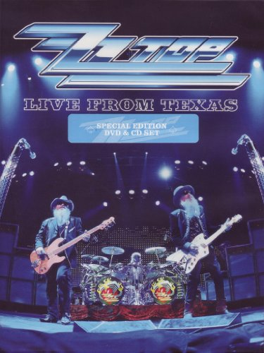 ZZ Top - Live from Texas (special edition) (+CD)
