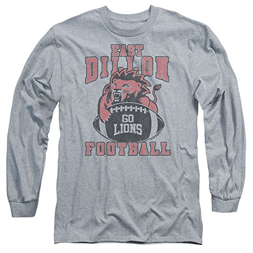 Friday Night Lights - Herren-Go Lions T-Shirt Athletic Heather