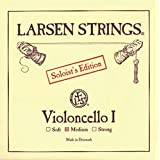 Larsen Saiten für Cello La Acier chromé Soloist's Edition I 4/4; Soft