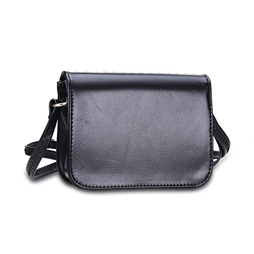THEE, Borsa a secchiello donna nero Black Style 1 Black