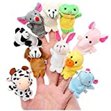 #8: Animal Finger Puppet Soft toys Puppet for Baby Boy And Girl Birthday Gift (Set of 10)