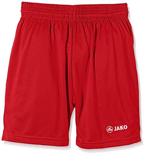Jako Kinder Sporthose Manchester Shorts, Rot, 11-12 Jahre (Herstellergröße: 4) Rot 12