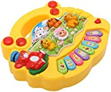 #4: Akshata Baby farm animal piano with real animal sound, piano sound ,LED flash Light ( Design & Color As Per Availability )