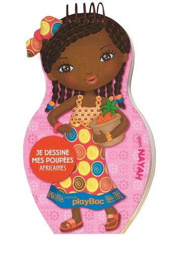 Carnets de dessin Minimiki : Je dessine mes poupées africaines