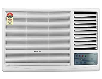 Hitachi RAW122KUD Kaze Plus Window AC (2 Ton, 1 Star Rating, White, Copper)