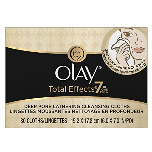 Olay Total Effects Lathering Cleansing Cloths 30 Count by Olay
