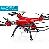 Syma X8HG Drone Rc | Control Altura | Cámara HD 8MP | Headless Mode | Iniciación