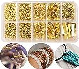 Liuer 502PCS Jewelry Making Kit Accesorios de joyería Herramientas de juego Adecuado para hacer Braceletc Necklace Jewelry, DIY Fabricación de Materiale de Joyeria para Principiante