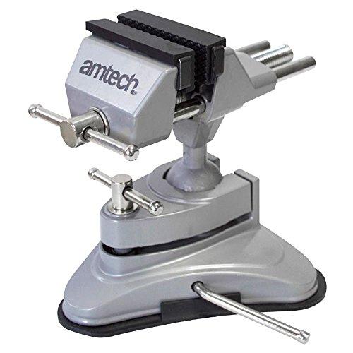 Am-Tech D3425Saugnapf Tisch Schraubstock -