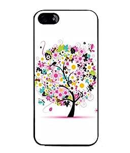 PrintVisa Designer Back Case Cover for Apple iPhone SE (Stars Rounded cut)
