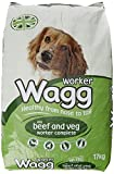 Wagg Complete Worker Dry Mix Dog Food Beef and Vegetables, 17kg Bild 1