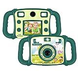 DROGRACE Cámara para niños de doble lente cámara de vídeo digital para niños 1080P FHD Selfie DUO cámara con 4 x Zoom, luces de flash, pantalla LCD de 2 pulgadas para niños niñas cumpleaños vacaciones regalo