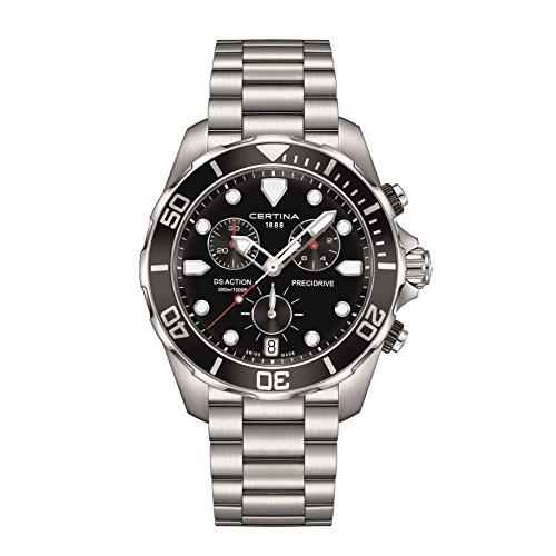 CERTINA DS Action Herren-Armbanduhr 43MM Quarz C032.417.11.051.00