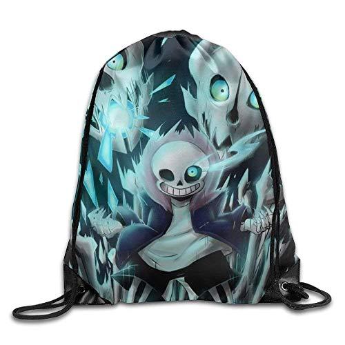 Etryrt Turnbeutel/Sportbeutel, AntaQuyaN Under-Tale Sans Cartoon Outdoors Backpack Unisex<br/>Knuckles Backpack, Drawstring Shoulder Bag, Backpack, Pocket Pocket Canvas, Bag Bag, Travelling Bag. (Ist Ein Igel Knuckles)
