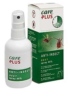 Care Plus Erwachsene Anti-Insect Deet 40% 100ml Spray, Transparent, 100 ml