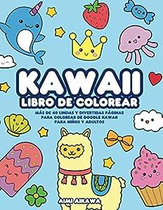 Kawaii libro de colorear: Más